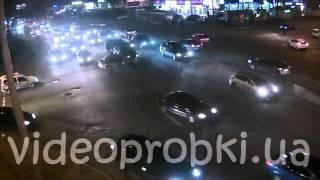 ДТП в Киеве из-за неработающего светофора