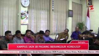 Pasca Bentrok Satpam VS Mahasiswa, Kampus IAIN Imam Bonjol Padang Beransur Kondusif