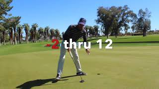 I make the drive out to De Anza Country Club to prepare for the Gol...