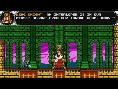 King Knight: The Decadent Dandy of Pridemoor Keep (Shovel Knight: Shovel of Hope)