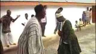 Nana Kudi - AKOM IN KUMASI GHANA AT NANA KUDI'S SHRINE.flv