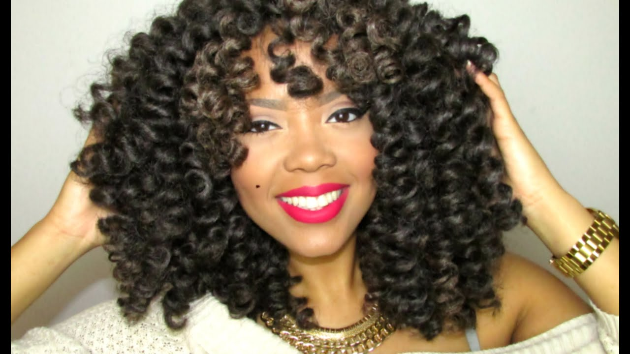 Crochet Braids Hair Youtube : CROCHET BRAID WIG FROM START TO FINISH! (MARLEY HAIR TAKE #2 ...