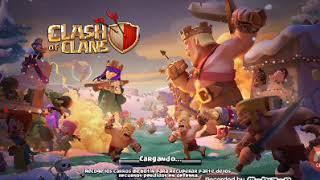 La nueva actualización de clash of clans de navidad