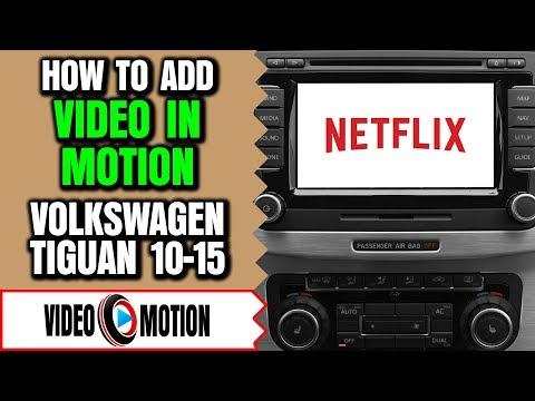 VW Tiguan Video In Motion - VolksWagen Tiguan DVD Player, VW Tiguan DVD Video Player While Driving