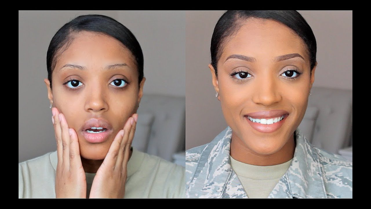 Military Makeup 2015- Get Ready With Me (Work Edition) - YouTube