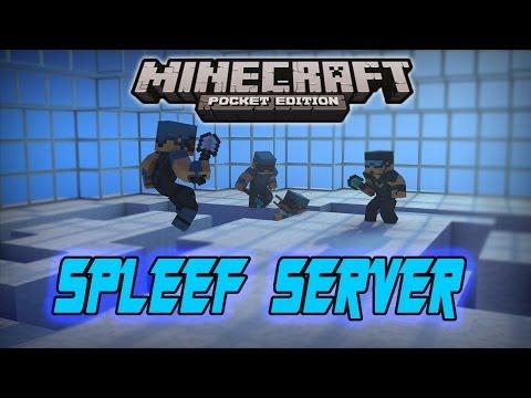 Minecraft Pocket Edition SPLEEF LegionPvP Server YouTube