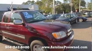 Autoline's 2003 Toyota Tundra SR5 Walk Around Review Test Drive