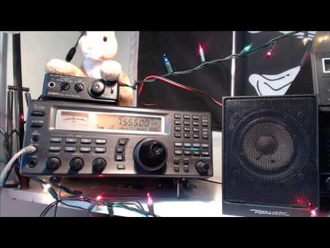 Tuning the shortwave radio bands live Nove,ber 11th 2016