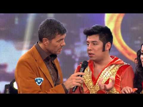 Showmatch 2012 - Mariano De la Canal hizo reír a Marcelo Tinelli