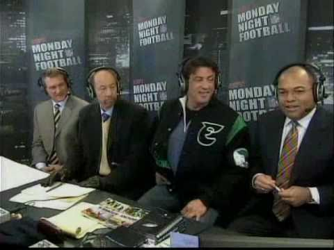 Stallone On Monday Night Football (Dec 4th 2006) - YouTube