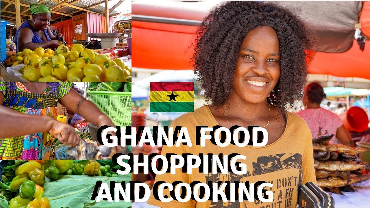 COOKING LOCAL WEST AFRICAN FOOD WITH MARKET AND FARM PRODUCE | CHOP BAR FOOD IN ACCRA, GHANA