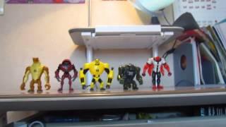 Мои фигурки Бен 10(, 2013-07-01T11:13:50.000Z)