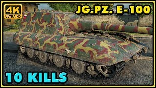 World of Tanks | Jagdpanzer E-100 - 10 Kills - 9K Damage Gameplay