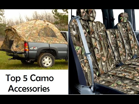 Top 5 Camo Accessories for Trucks (Mudding and Hauling)