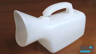 Portable Female Urinal with Handle Review