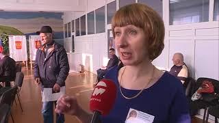 18 марта в Уссурийске работало 102 избирательных участка - 98 постоянных и 4 временных