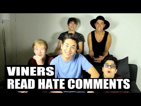Viners Read Hate Comments (ft. Corey Scherer , BigNik , Sam and Colby)