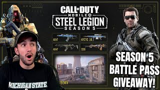 UNDEFEATED THIS SEASON + BATTLE PASS GIVEAWAYEVERY HOUR! COD Mobile Live Stream