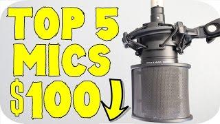 top 5 best budget microphones under 100