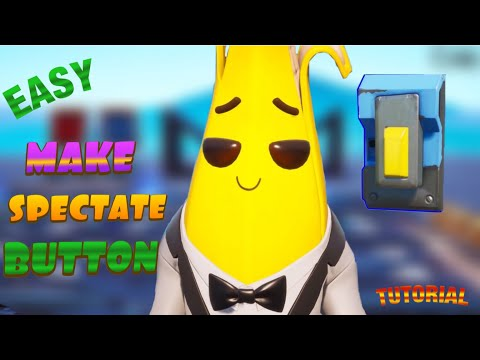 How To Make Spectate Button In Fortnite Creative (spectator Mode) Easy Tutorial!