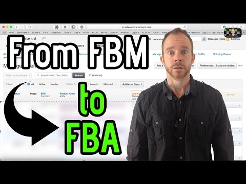 How to Convert a Merchant Listing into an FBA Listing on Amazon
