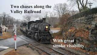 HiDef Two chases along the Valey Railroad