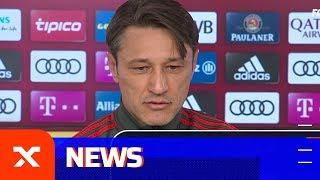 Niko Kovac über Thomas Müller als Reservist, Zeit- und Handspiel | FC Bayern München | SPOX
