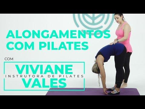 Websérie - Pilates para iniciantes: alongamentos com pilates | Viviane Vales e Milene Domingues