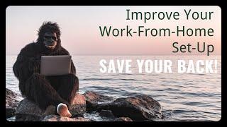 Healthy Dynamic Workspace Part 2: Advanced Tips for an ergonomic desk set up!🎓