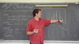 Describing Distributions in Statistics