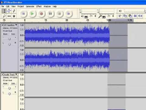 Audacity v1.2.6 ''ECHO EFFECT'' tutorial no2