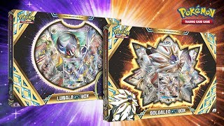 Opening 4x Pokemon Solgaleo GX Collection Boxes