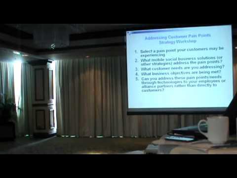 Tom Vassos Mobile Marketing Workshop in Panama City, Panama (DESTINATION INNOVATION) - Part B
