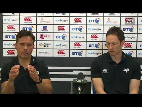 Ospreys TV: Press Conference - Allen Clarke and Dan Griffiths