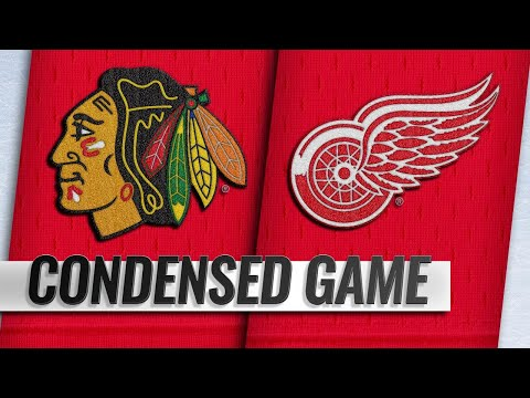 02/20/19 Condensed Game: Blackhawks @ Red Wings