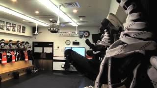 Flyers Locker Room. Tour Video (в раздевалке у Летчиков)