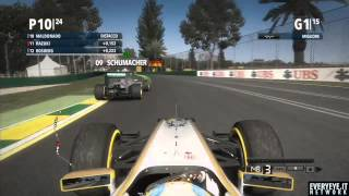 F1 2012 Videorecensione Gameplay HD ITA
