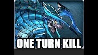 One Turn Kill Xeno Cocytus NM Lv120 Granblue Fantasy