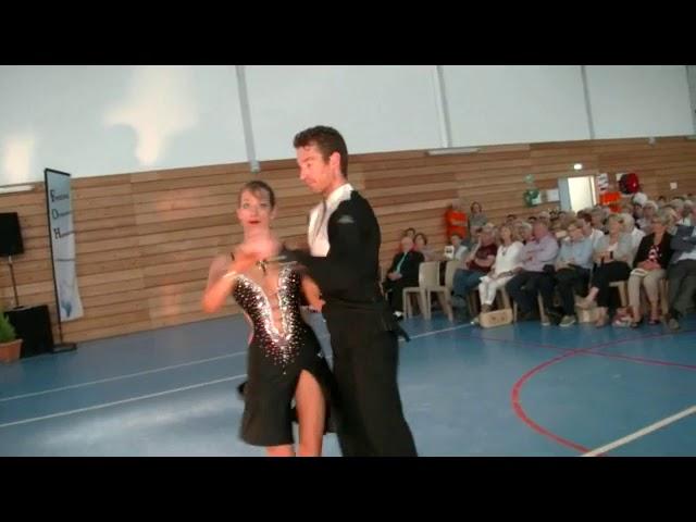 FOH31 2018 - Danseurs Angélique et Hermann - Solenzara par l'orchestre d'harmonie de Rieumes