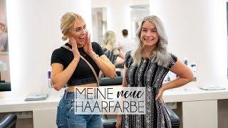 Ich färbe meine Haare GRAU! | Umstyling