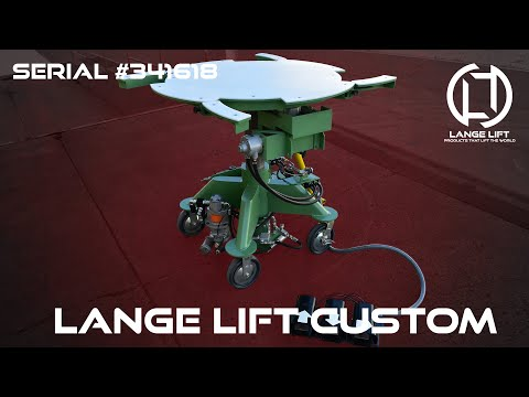 Air Powered Lift Table with Indexing Top | 500 Pound Capacity