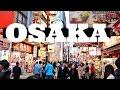 Osaka: Awesome street food in Dotonbori