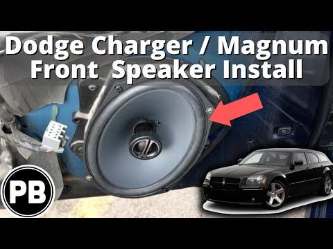 2005 - 2010 Dodge Charger / Magnum Front Speaker Install - YouTube
