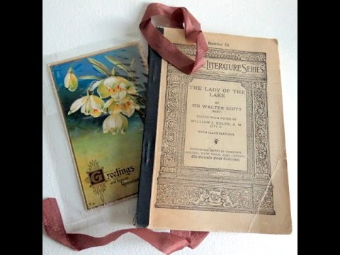 My Bookshelf Tour. Some Of The Classic And Antique Books. Altered Art Bookmarks: Chrystelle
