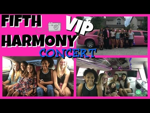 🎤EPIC FIFTH HARMONY CONCERT🎤 |👑 VIP 👑 | Emma & Ellie