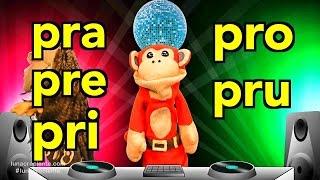 Sílabas pra pre pri pro pru - El Mono Sílabo - Videos Infantiles - Educación para Niños #
