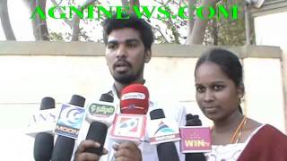 THENI.. MARRIED LOVERS LAND UP IN POLICE STATION.