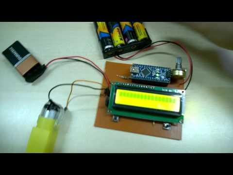 Controlling speed of DC Motors using Arduino