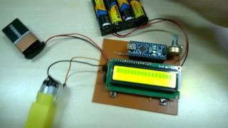 Arduino ile DC Motor Hız Kontrol - PWM ile (Arduino DC Motor Speed Control with PWM)