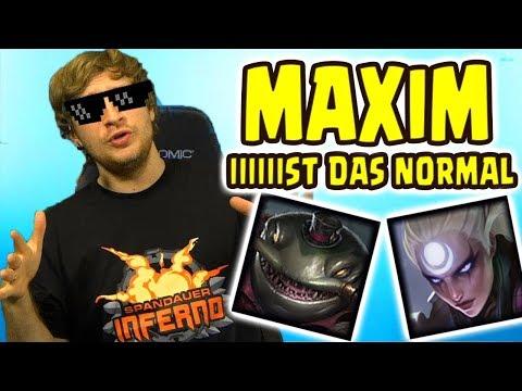 MAXIM Entspannte DuoQ mit Noway4u | Challenger Player (Deutsch/German) LoL